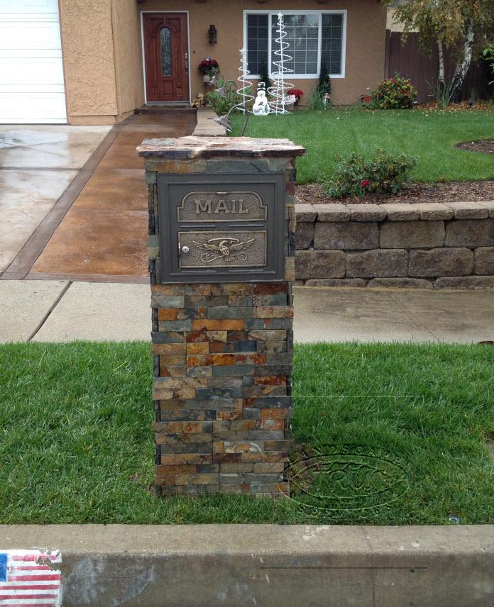 Mailbox Installation Orange County Landscape Contractor