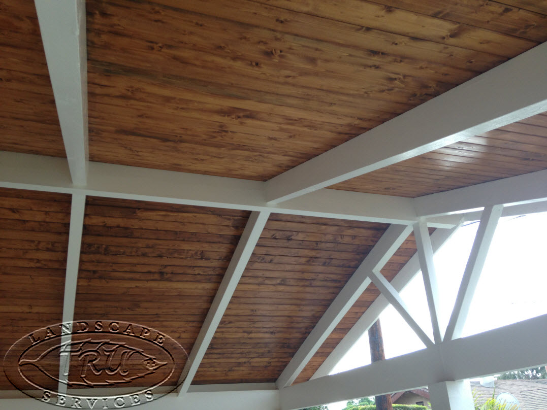 Quality Craftsmanship. A Beautifully Stained Custom Patio Cover