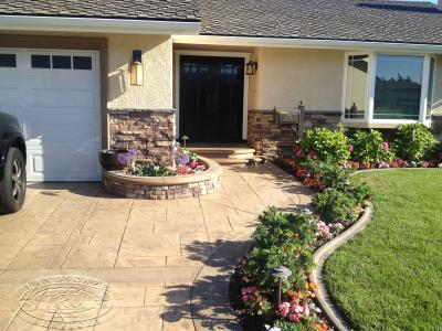 Landscape Construction Driveway and Entry Way