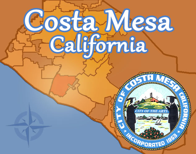 Costa Mesa Map Landscaping