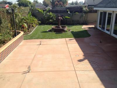 Orange County Concrete Patio