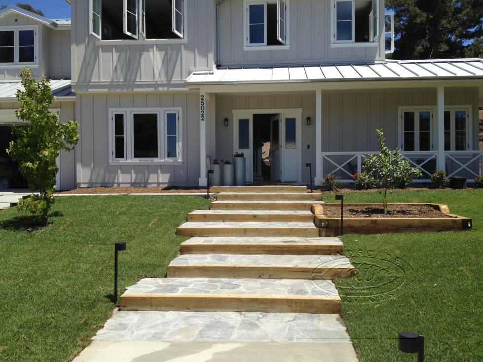 Landscape Construction Entry way