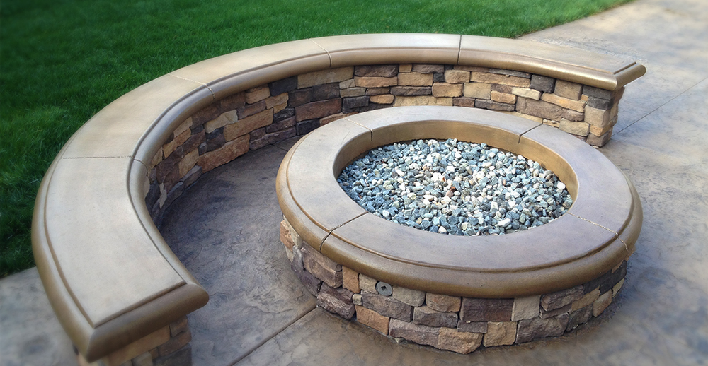 Orange County Fire pit Installation