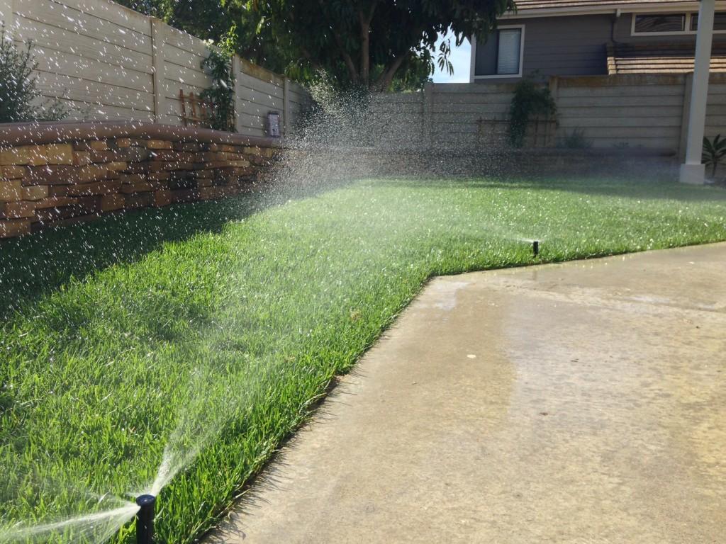 Sprinkler System Installation Orange County Landscape