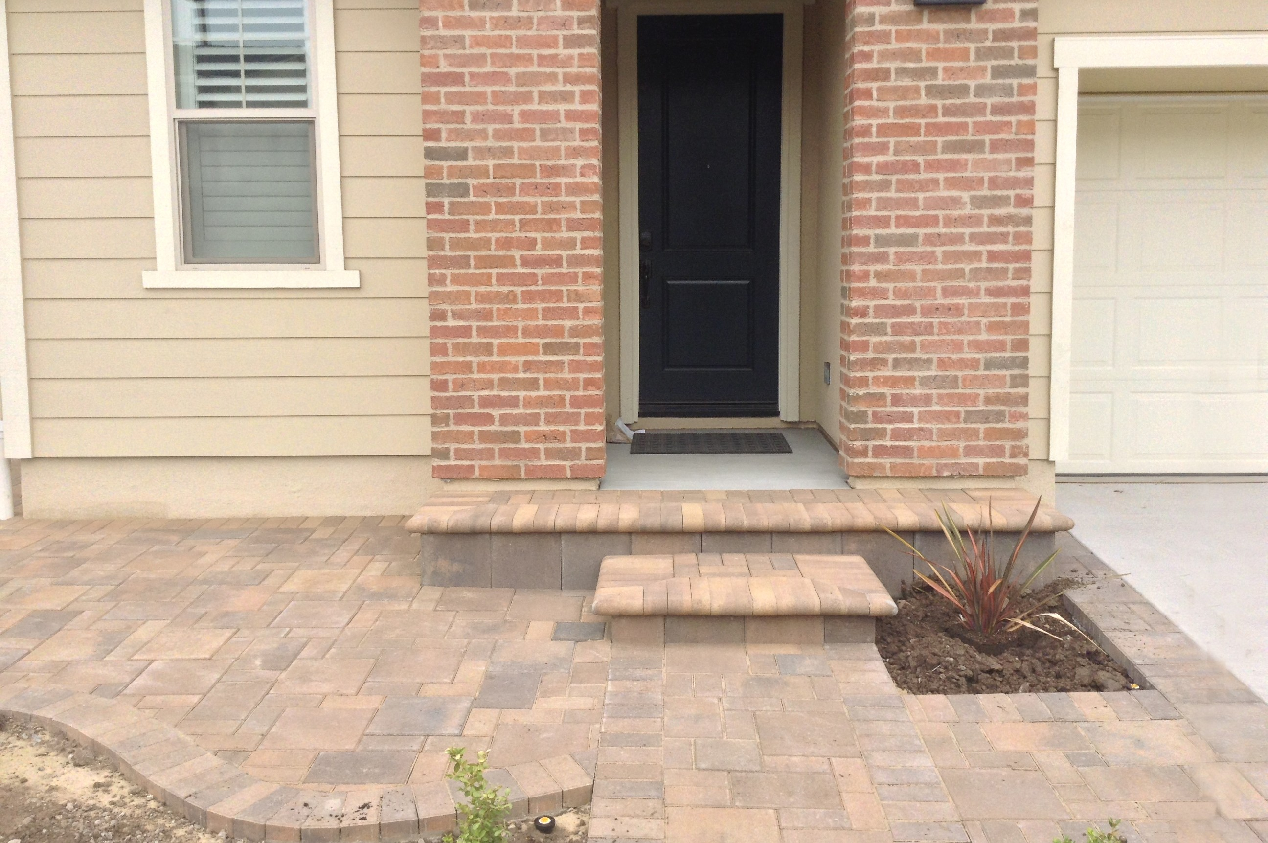 How Many Landscaping Bricks Do I Need : Orange county landscape contractor company tru services