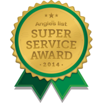 Angie's List Super Service Award for Landscaping