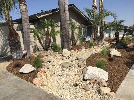 News orange county landscape contractor company tru for Landscaping rocks orange county