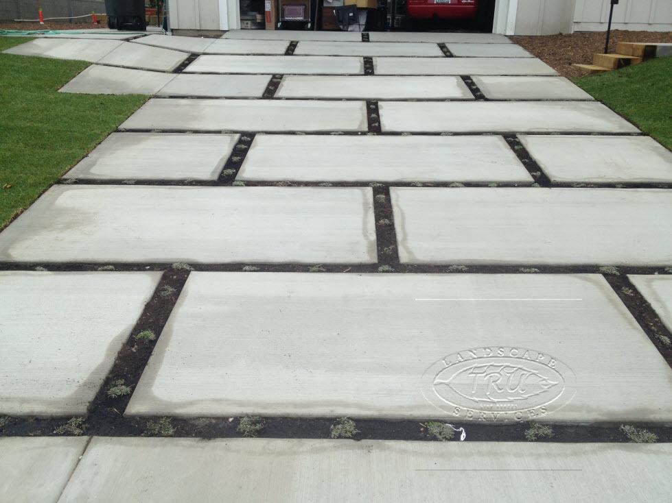 Concrete Installation On